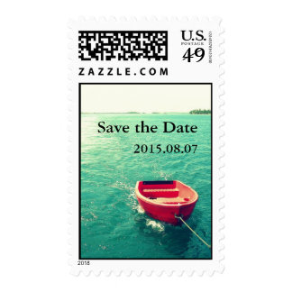 Summer Lakeside Party/Celebration Custom Postage