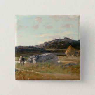 Summer Landscape 2 Button