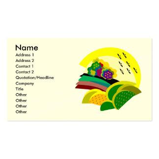 Summer Landscape Business Cards