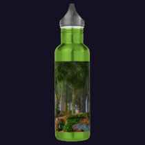 Summer Leaves Water Bottle