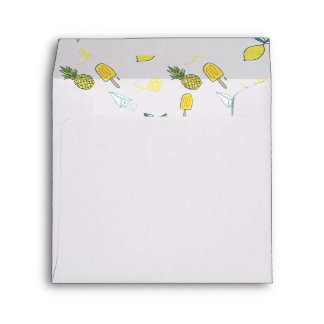 Summer Lemon Delight Envelope
