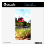Summer Lighthouse Decals For The iPhone 4