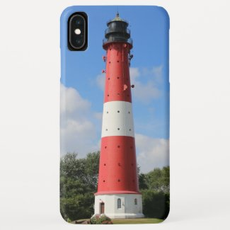 Summer lighthouse on Pellworm Island Case-Mate iPhone Case