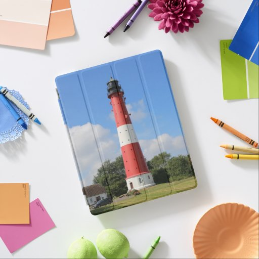 Summer lighthouse on Pellworm Island iPad Smart Cover