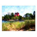 Summer Lighthouse Postcard