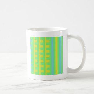Summer Lime Combs Tooth Coffee Mug
