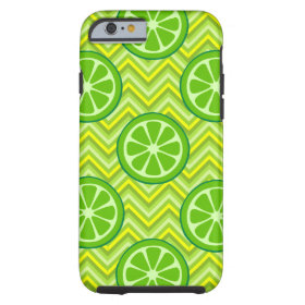 Summer Limes Green Yellow Chevron iPhone 6 Case
