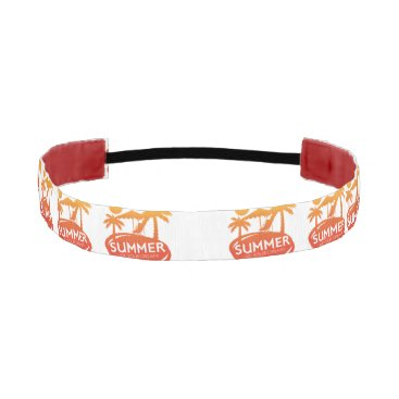 Beach Themed Summer – Live your dream Athletic Headband