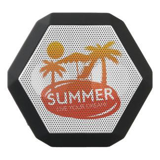 Summer – Live your dream Black Bluetooth Speaker
