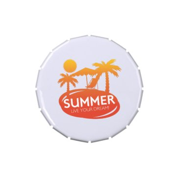 Summer – Live your dream Candy Tin