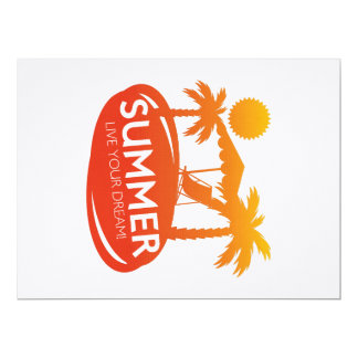 Summer – Live your dream Card