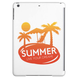 Summer – Live your dream Cover For iPad Air
