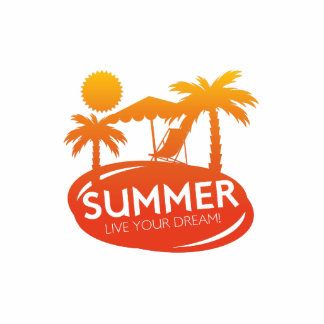 Summer – Live your dream Cutout