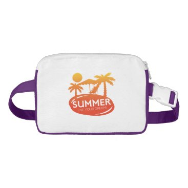 Beach Themed Summer – Live your dream Fanny Pack