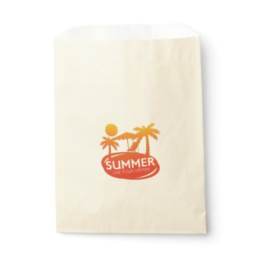 Summer – Live your dream Favor Bag