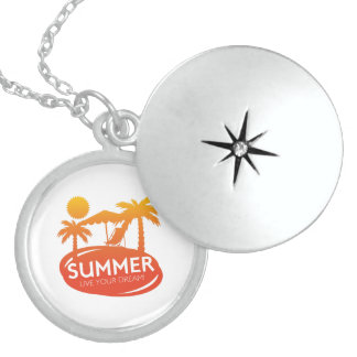Summer – Live your dream Locket Necklace
