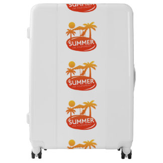 Summer – Live your dream Luggage