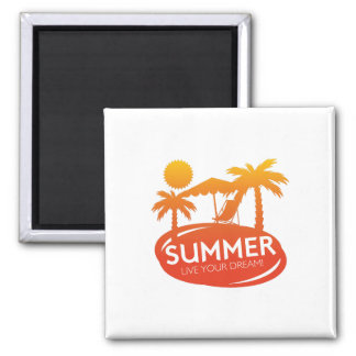 Summer – Live your dream Magnet