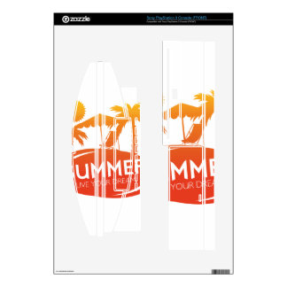 Summer – Live your dream PS3 Decals