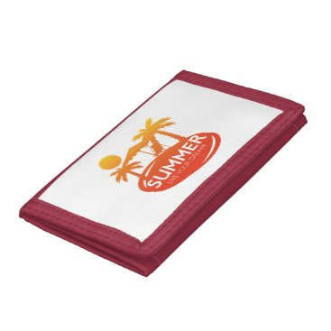 Summer – Live your dream Tri-fold Wallet