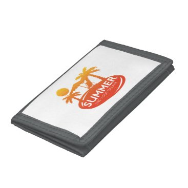 Summer – Live your dream Tri-fold Wallets