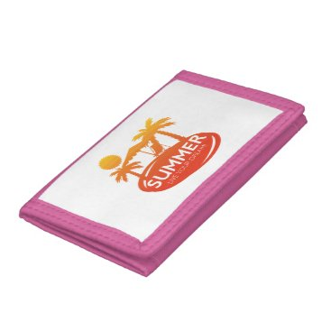 Summer – Live your dream Trifold Wallets