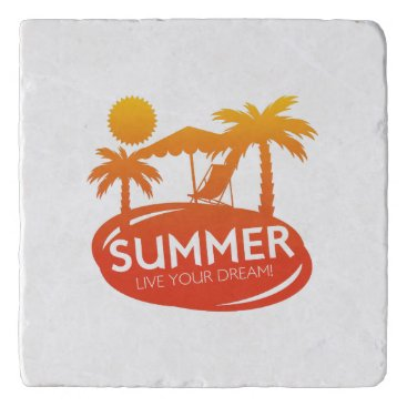 Summer – Live your dream Trivet