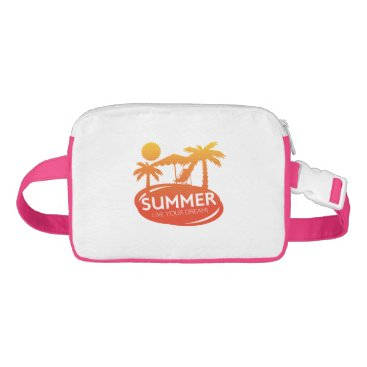 Beach Themed Summer – Live your dream Waist Bag