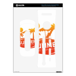 Summer – Live your dream Xbox 360 Console Skin