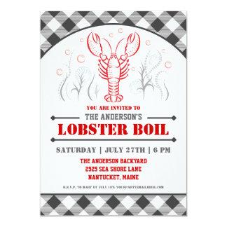 Summer Lobster Boil Party Invitation