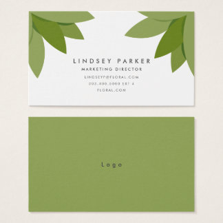 Summer Love Garden Business Card
