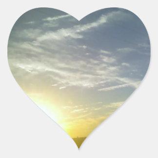 Summer Love Heart Sticker