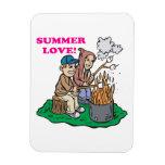 Summer Love Rectangular Magnet