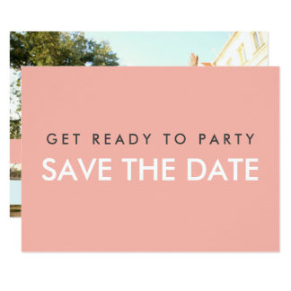 Summer Love (Save The Date) Card