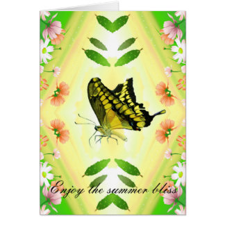 Summer Lover Butterfly Card