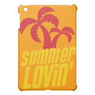 Summer Lovin with palm trees iPad Mini Cases