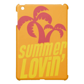 Summer Lovin with palm trees iPad Mini Cover