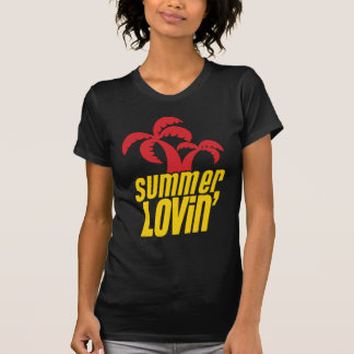 Summer Lovin with palm trees Tees