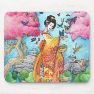Summer Maiko Mouse Pad