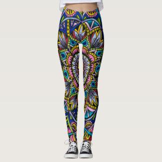Summer Mandala Leggings