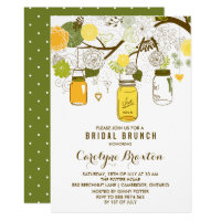 Summer Mason Jars | Bridal Brunch Invitation