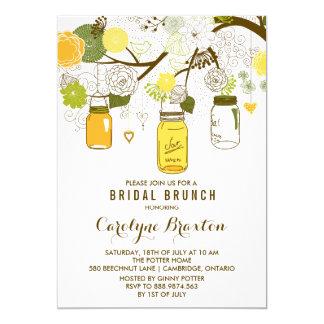 Summer Mason Jars | Bridal Brunch Invitation