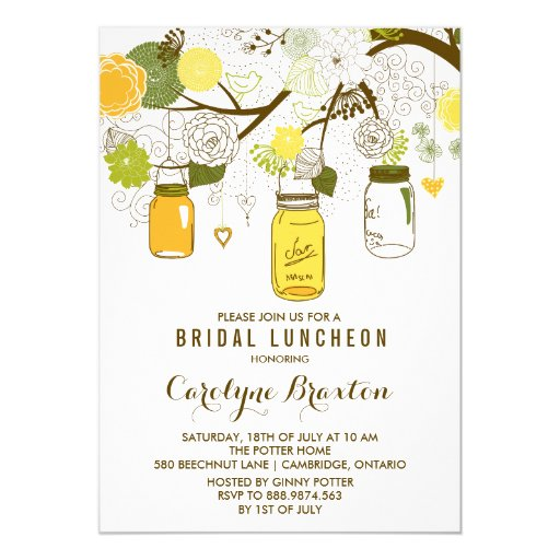 Make Bridal Shower Invitations with good invitation design