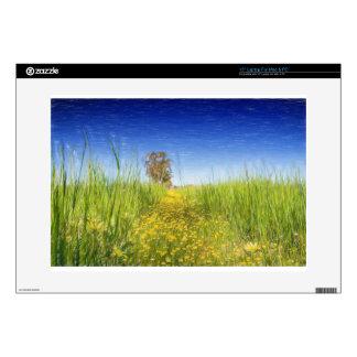 """Summer Meadow 15"""" Laptop Skins"""
