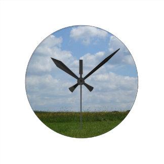 Summer Meadow Clock