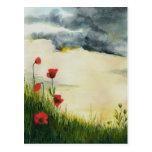 summer meadows postcard