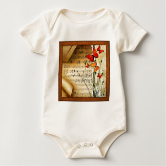Summer Melody Baby Bodysuit