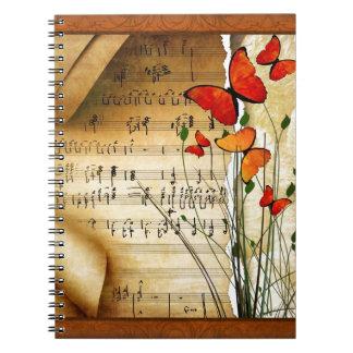 Summer Melody Notebook