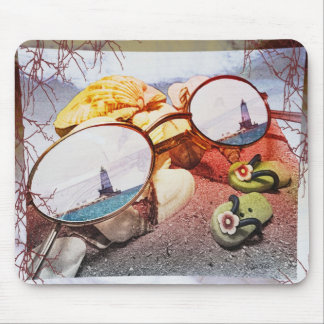 Summer Memories Fade Mouse Pad