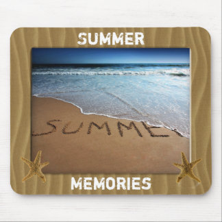 Summer Memories Photo And Frame Mousepad